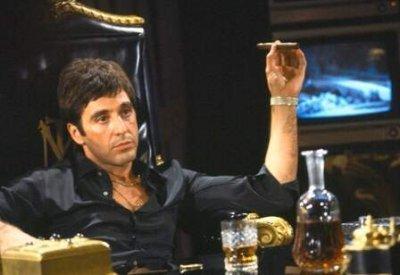 A sebhelyesarcú - Al Pacino