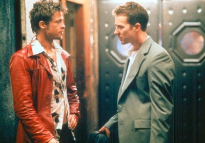Harcosok klubja - Brad Pitt és Edward Norton