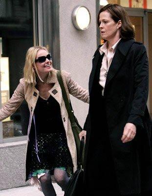 Lány a parkban - Kate Bosworth és Sigourney Weaver