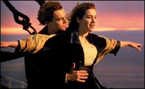 titanic - leonardo dicaprio és kate winslet